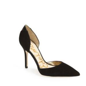 Sam Edelman Shoes - Sam Edelman 'Delilah' Black D'orsay Heels